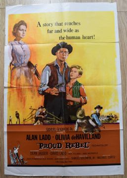 Proud Rebel (1958) Film Poster - One Sheet